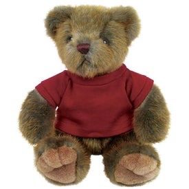 Plush Mink Bear Imprinted with Your Logo