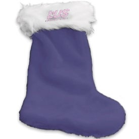 Plush Christmas Stocking for your School