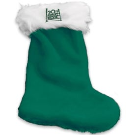 Plush Christmas Stocking for Your Organization