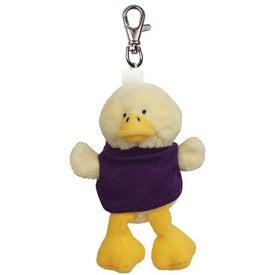 Duck Plush Key Chain