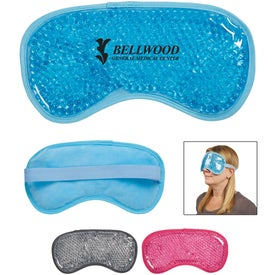 Plush Gel Beads Hot Cold Eye Mask
