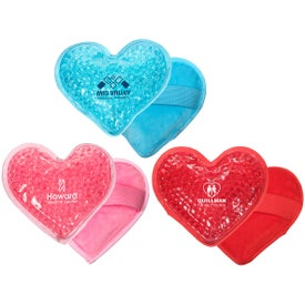 Plush Heart Hot and Cold Packs