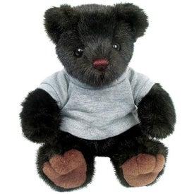 Plush Mink Bear for Advertising