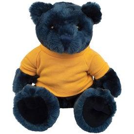 Plush Knuckles Bear (Navy)