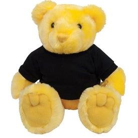 Printed Plush Bear Knuckles
