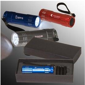 Custom Pocket 9 LED Torch