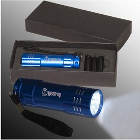 Advertising Pocket 9 LED Torch