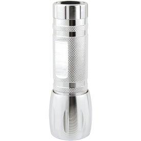 Single LED Pocket Aluminum Flashlight for Your Company