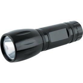 Advertising Single LED Pocket Aluminum Flashlight