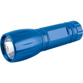 Single LED Pocket Aluminum Flashlight for Advertising