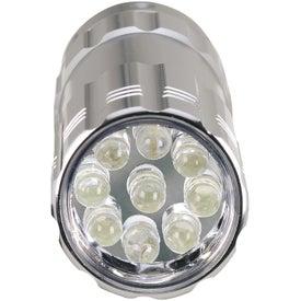 Pocket Aluminum LED Flashlight with Your Slogan