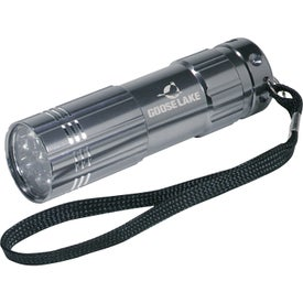 Personalized Pocket Aluminum LED Flashlight