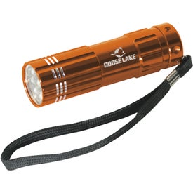 Pocket Aluminum LED Flashlight with Your Slogan