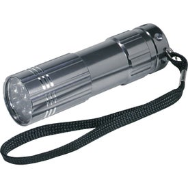 Pocket Aluminum LED Flashlight Imprinted with Your Logo