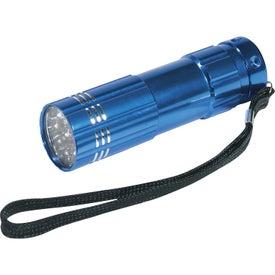 Branded Pocket Aluminum LED Flashlight