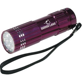 Pocket Aluminum LED Flashlight for Your Company