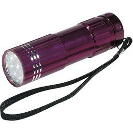 Imprinted Pocket Aluminum LED Flashlight