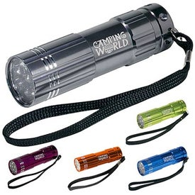 Pocket Aluminum LED Flashlight