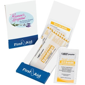Imprinted Pocket First Aid Kits