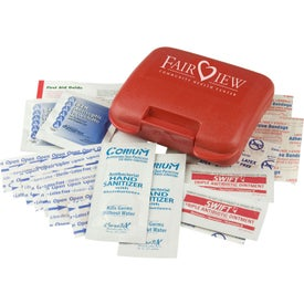 Deluxe Pocket First Aid Kit with Your Logo