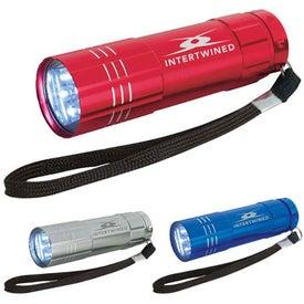 Pocket Aluminum Mini LED Flashlight Branded with Your Logo