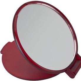 Monogrammed Pocket Mirror