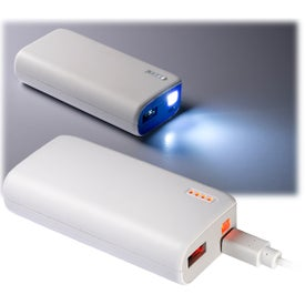 Pocket Mobile Charger with LED Light