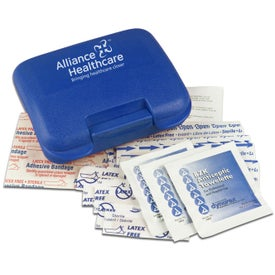 Pocket No-Med First Aid Kit for Marketing