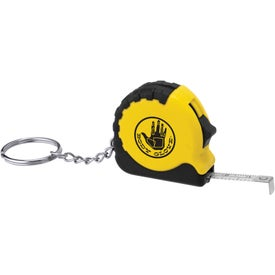 Advertising Pocket Pro Mini Tape Measure / Key Chain