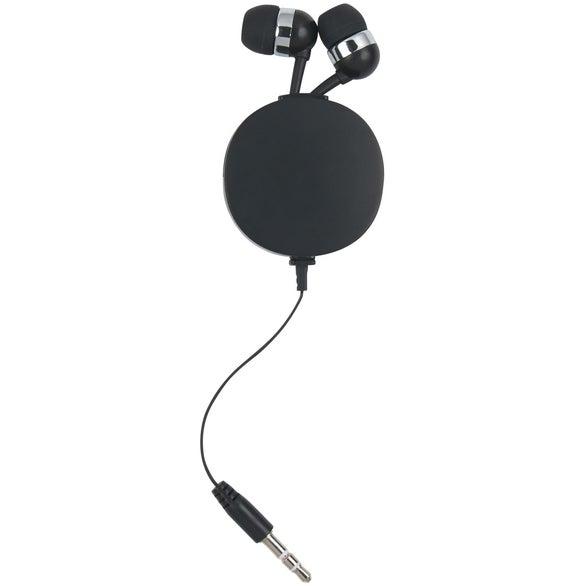 Pocket Size Retractable Ear Buds