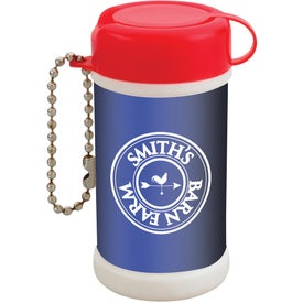 Pocket Size Wet Wipe Canister Branded with Your Logo