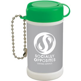 Company Pocket Size Wet Wipe Canister
