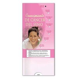 Monogrammed Pocket Slider Breast Cancer