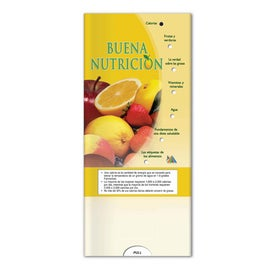 Customized Pocket Slider Good Nutrition