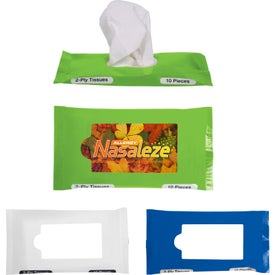 Customized Pocket Travel Facial Tissues