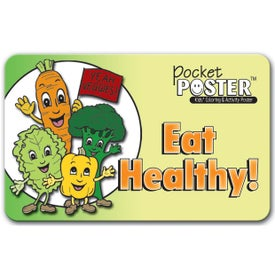 Customized Pocket Poster: Eat Healthy