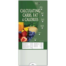 Promotional Pocket Slider: Calculating Carbs, Fat and Calories