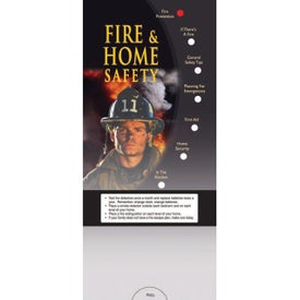 Pocket Slider: Fire and Home Safety Giveaways