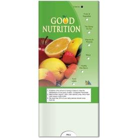 Personalized Pocket Slider: Good Nutrition