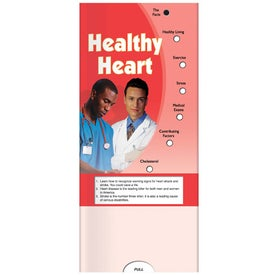 Imprinted Pocket Slider: Healthy Heart