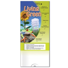 Advertising Pocket Slider: Living Green