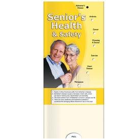 Pocket Slider: Senior's Health and Safety for Advertising