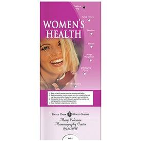 Pocket Slider: Women's Health
