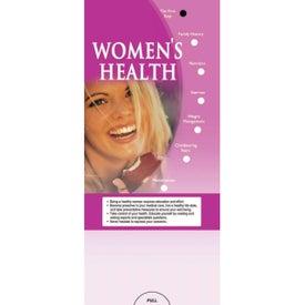 Customized Pocket Slider: Women's Health