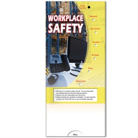 Pocket Slider: Workplace Safety Branded with Your Logo