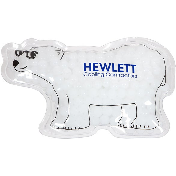 White Polar Bear Hot and Cold Pack