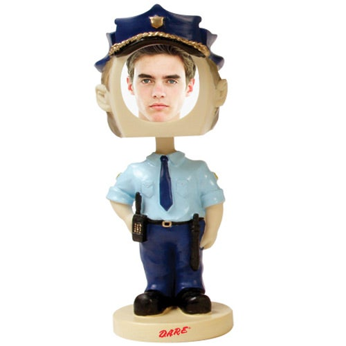 Policeman Single Bobble Head