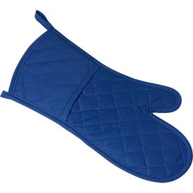 Printed Poly Cotton Twill Oven Mitt