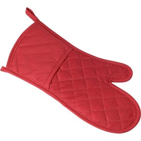 Poly Cotton Twill Oven Mitt for Your Organization