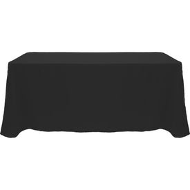 "Table Cover (8 Ft. Table, Flat, 4-Sided, 13 Ft. x 90"", Full Color Logo, Colors)"
